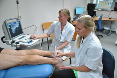 Echografie en podotherapie